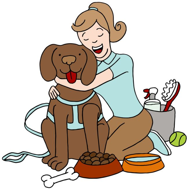 Dog Training Cartoon Pictures