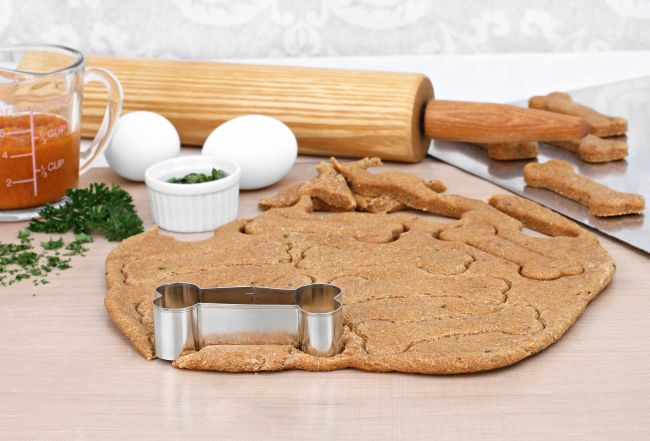 Savory Table Scrap Recipes for Homemade Dog Treats